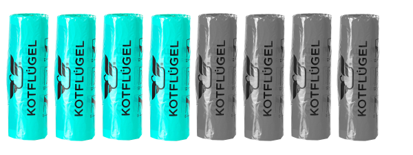 4x MARINE MAGIC - KOTFLÜGEL® Hundekotbeutel